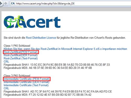 BORG Mistelbach: SSL-Zertifikate