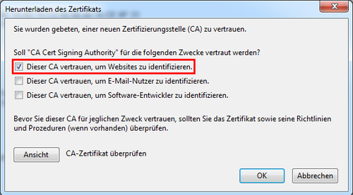 Borg Mistelbach Ssl Zertifikate
